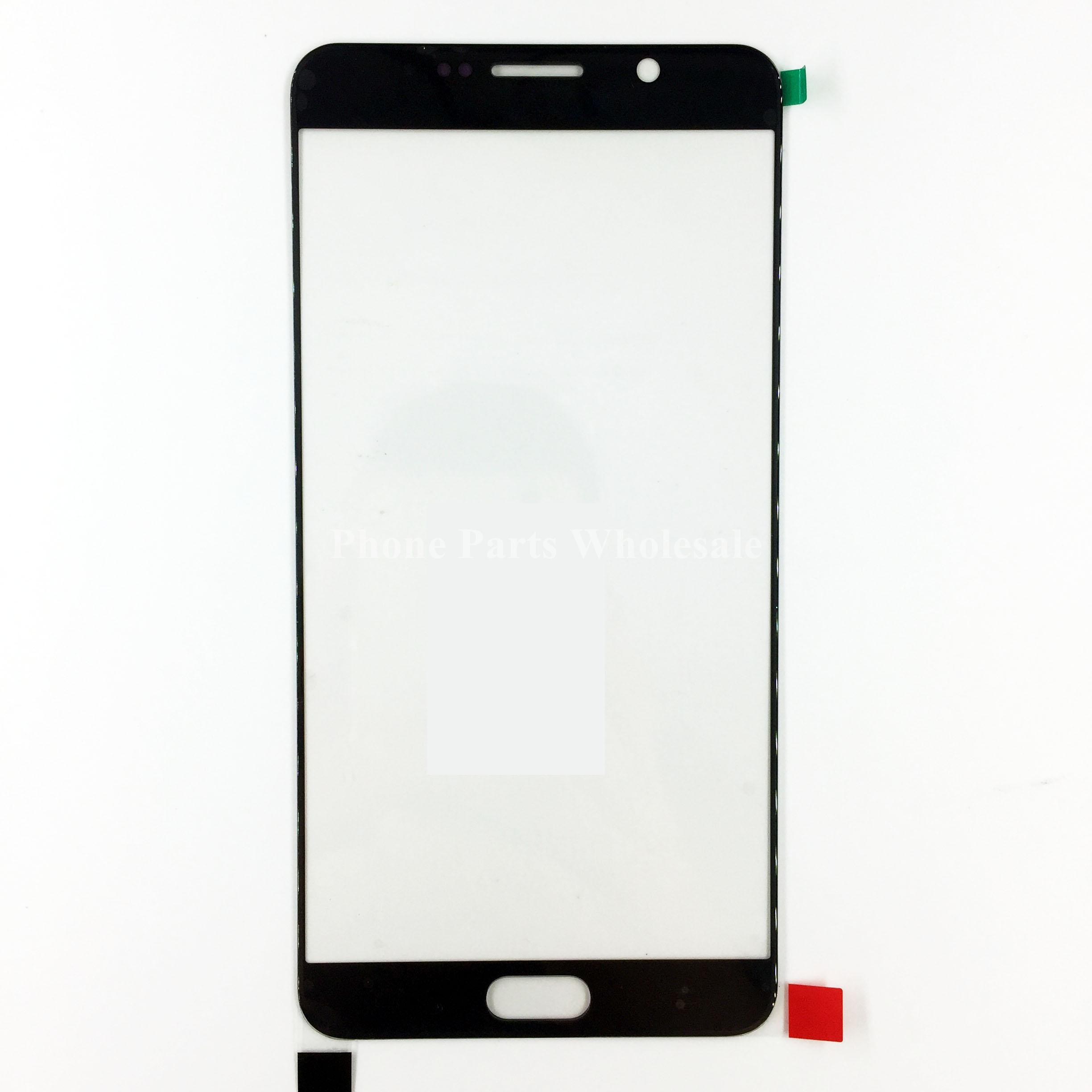 For Samsung Galaxy Note 5 N920 Original New LCD Front Outer Glass Lens Screen Panal Glass Lens Cover Replacement Parts