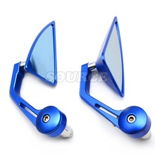 7/8″ Accessories Motorcycle Rearview Mirror Round Handle Bar End Mirror Rear Side Mirro for kawasaki vulcan  z7500 er6n  vn 900