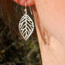 European and American jewelry fashion personality temperament simple Tucson-based metal leaf earrings Earrings For Women(China)