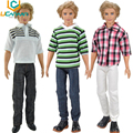 UCanaan Randomly Pick 3 Sets Men Cool Casual Suit Clothes Prince Fashion Wear Outfit For Babie Friend Ken Doll Best Gift Toys