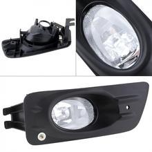 1 шт. Корпус прозрачные линзы автомобилей с левой стороны переднего бампера Противотуманные огни для Honda Accord 2006-2007 4dr Седан