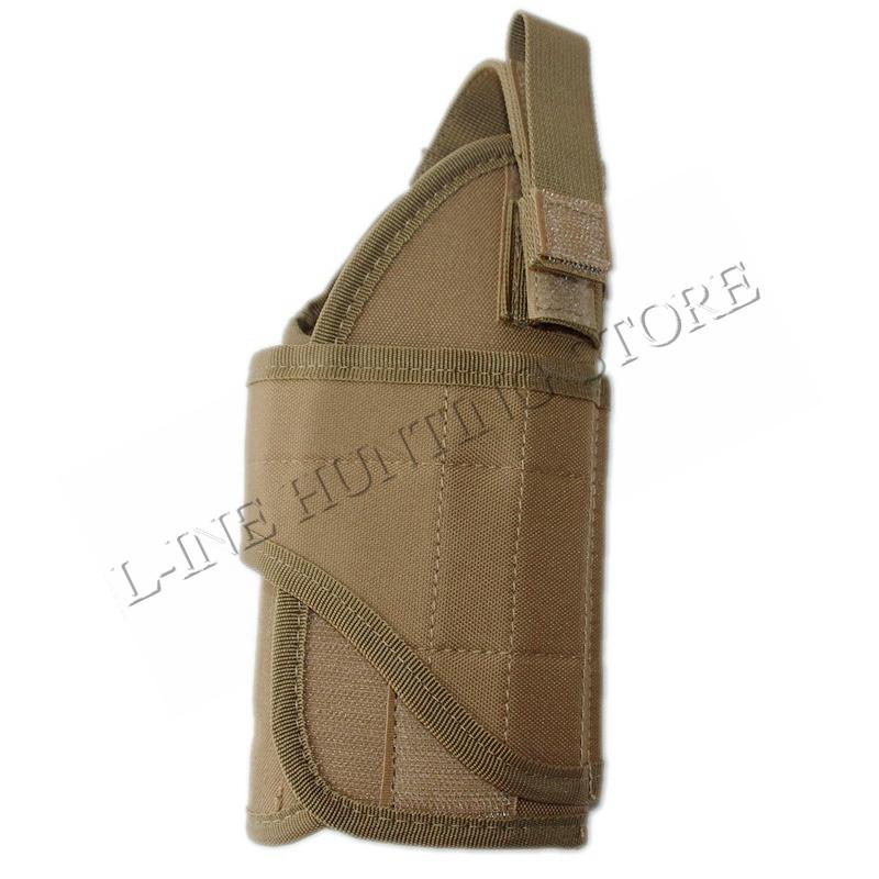 Ajustable Militar cinturón molle chaleco táctico pistola pistolera ...