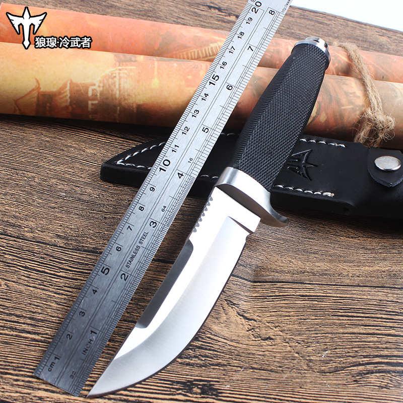 Hunting Tactical Knife Fixed Blade Knife Rescue Tools Glistening 440C Blade Hunting Straight Knife G10 Handle фреза johnson blade knife