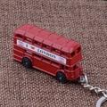 KC-98 изысканный ВЕЛИКОБРИТАНИИ я люблю лондон красный автобус брелки высокое качество Личности посеребренные Брелки