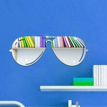 Simple art wall sticker Sunglasses stickers 3D Background wa