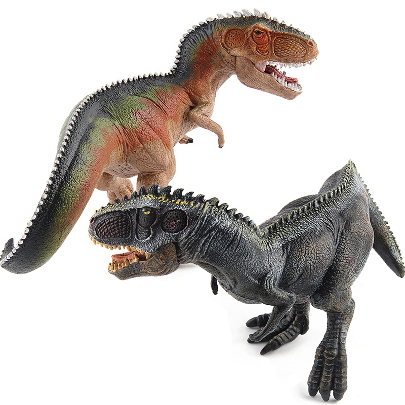 Jurassic Dinosaur World Model Dinosaur Toy Squatting South Dragon Doll Ornaments bwl 01 tyrannosaurus dinosaur skeleton model excavation archaeology toy kit white