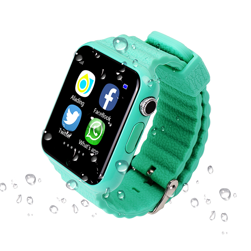 Fansaco Bluetooth Smart Watch Children Kids Wristwatch Security GPS Waterproof Smartwatch SOS Camera For IOS Android Devices children smart watch phone smartwatch android kids gps watch sos electronics smart watches wearable devices