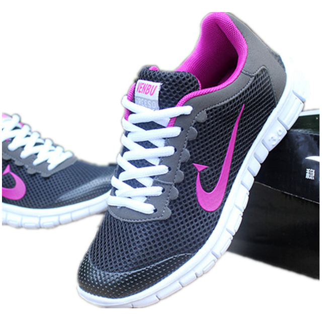 Mesh Women Shoes Jogger 2015 Trendy Air Shoes Lightweight women Joggers Breathable basket Zapatos Mujer Women Trainers Chaussure