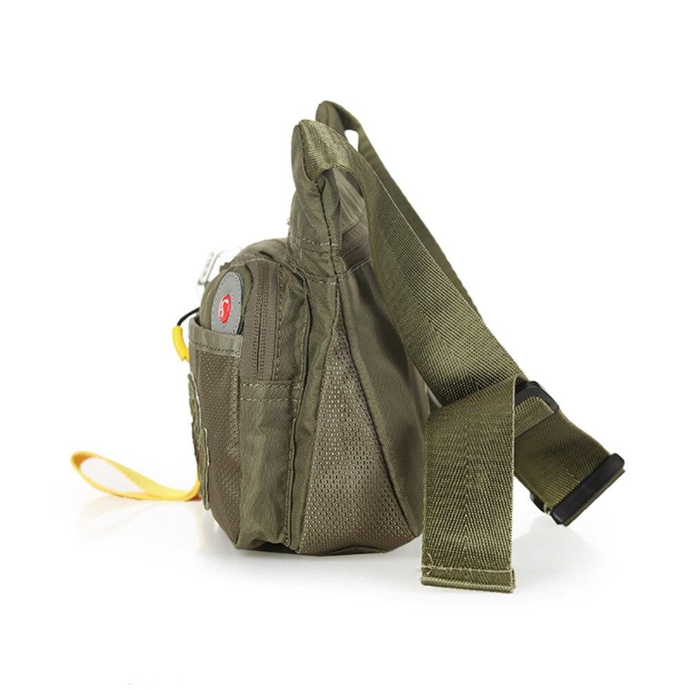 Casual Bum Dei Spalla Impermeabile Marsupi army Vita Del Pacchetto Di Sacchetto Marca Petto Bag Green Black Soldi Uomini Della Cinghia FO5qwxSwf