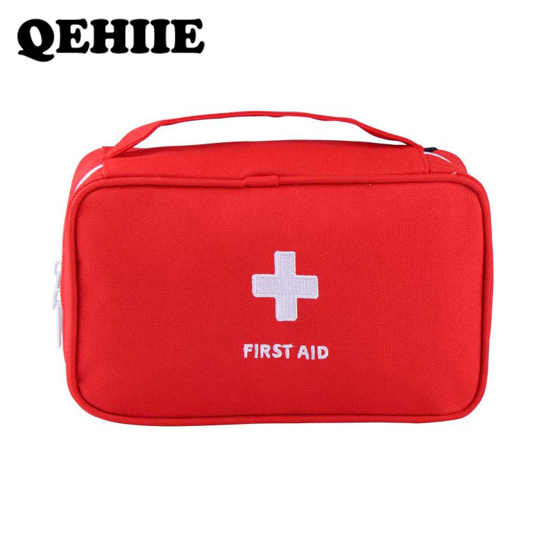 First Aid Kit Bag Portable Travel Medicine Package Emergency Kit Bags Small Medicine Divider Medical Bag Big