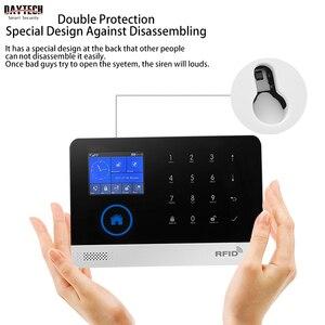 Image 4 - Daytech Không Dây GSM Nhà Báo Động Màn Hình Cảm Ứng LCD Wifi GSM Hệ Thống An Ninh RFID Phát Hiện Chuyển Động Khói Lửa Cảm Biến (TA01)