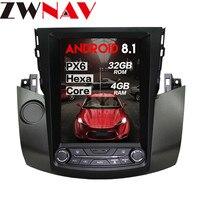 Big screen Tesla style Android 8.1 Car radio Stereo For Toyota RAV4 RAV 4 2003 2009 GPS Navigation Audio radio head unit no dvd