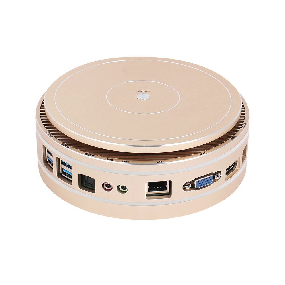 Mini PC Intel Core i7 5550U i5 5250U i3 4025U HTPC TV BOX Windows 10 Computer HDMI VGA WiFi USB familie Desktop PC