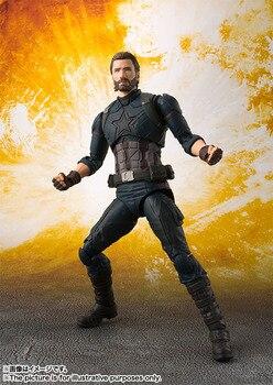 Фигурка Капитан Америка Мстители 16 см ПВХ