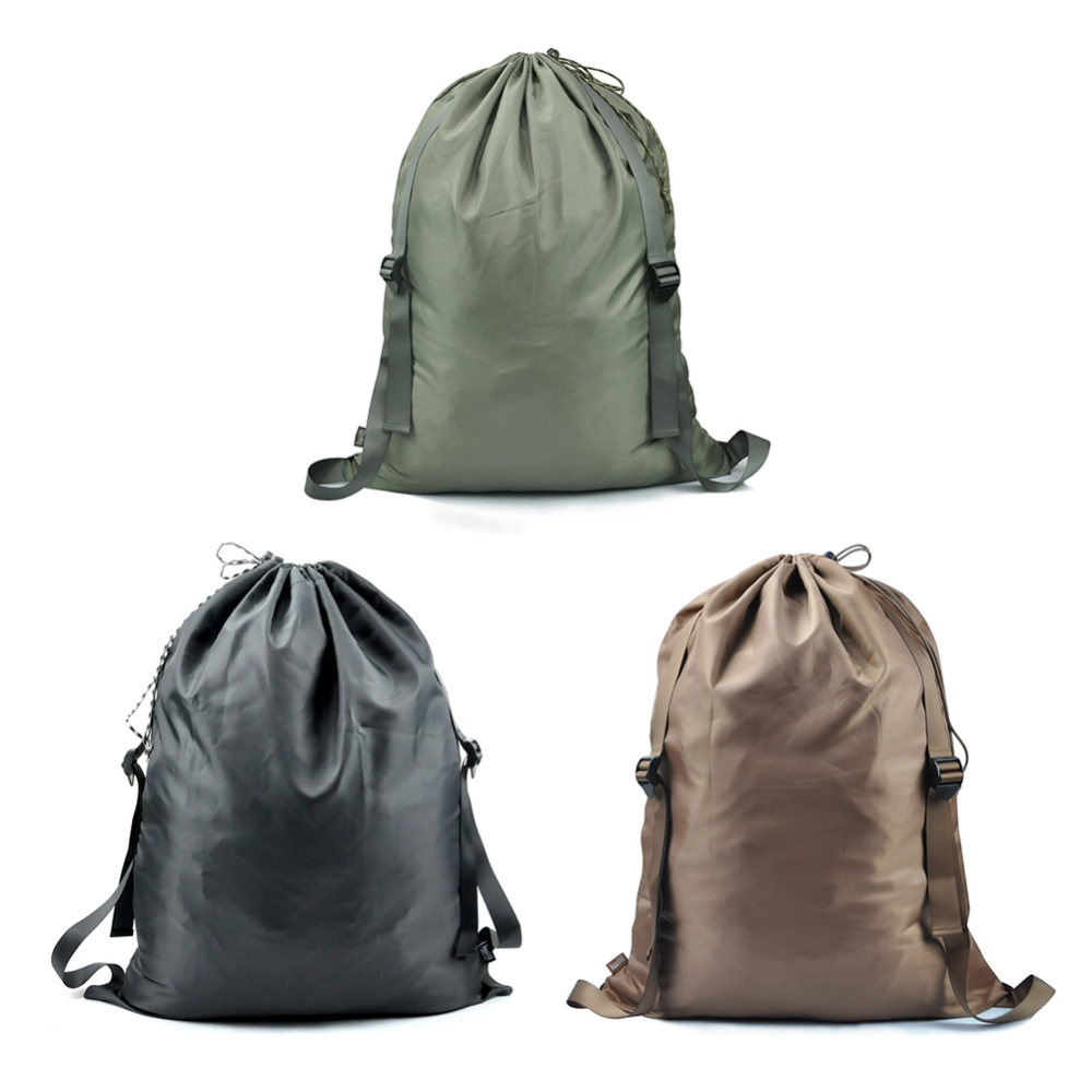 2019 New Laundry Bag With Adjustable Shoulder Straps Drawstring Closure For Students