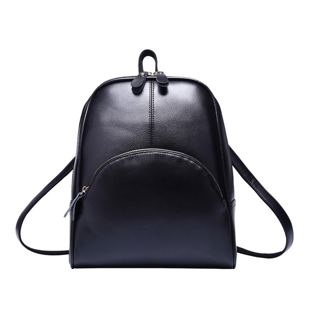 Female Backpack Black Solid Women Shoulder Bag Waterproof School Bag for Teenage Girls Preppy Style Travel Backpack Casual цена 2017