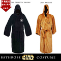 Star Wars Darth Vader Terry Jedi Bathrobe Jedi Knight Coral Fleece Embroidered Bath Robe Cosplay Costume