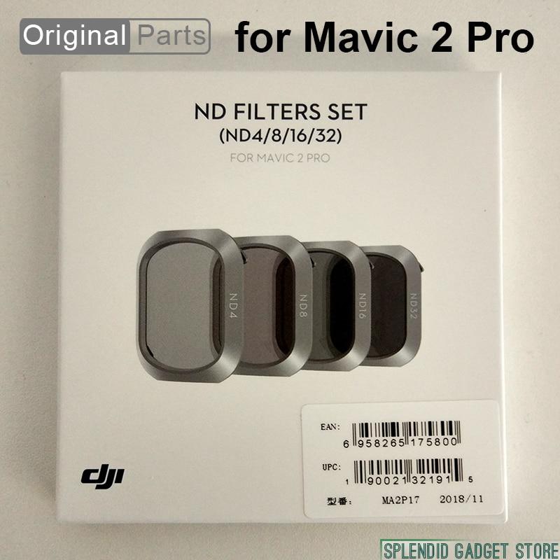 Оригинальный ND фильтры Набор для DJI Mavic 2 Pro ND4, ND8, ND16, ND32 свет сокращения фильтры высокого качества точные механические Дизайн