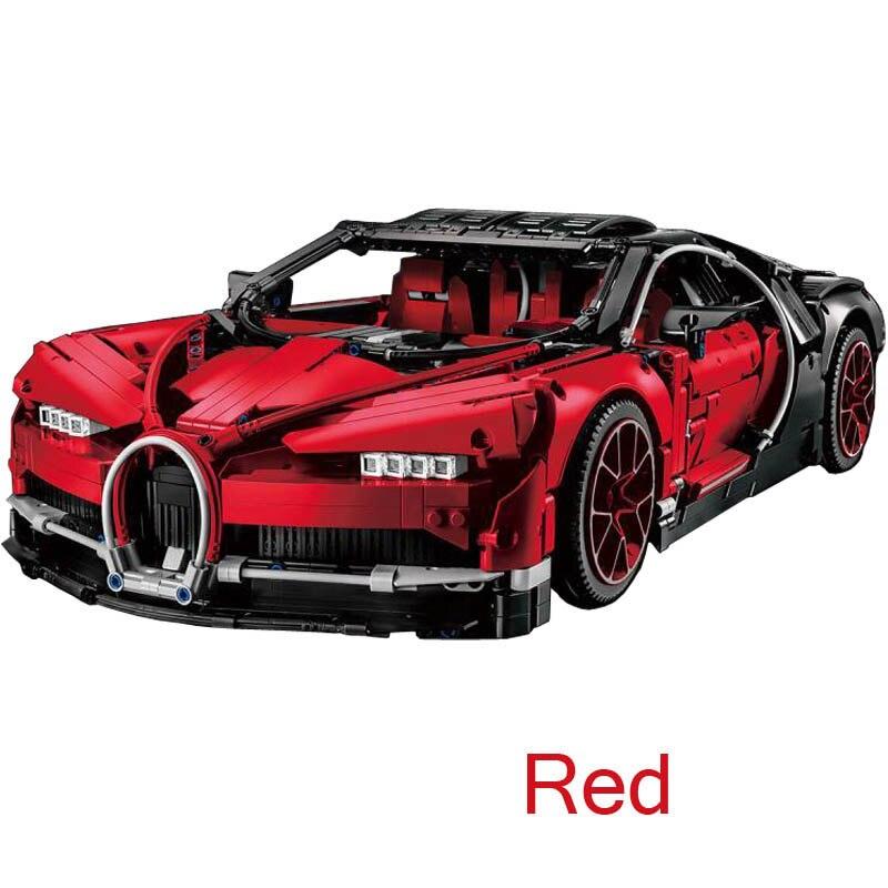 2018 New 4031pcs Technic Figures Bugatti Chiron Racing Car Sets
