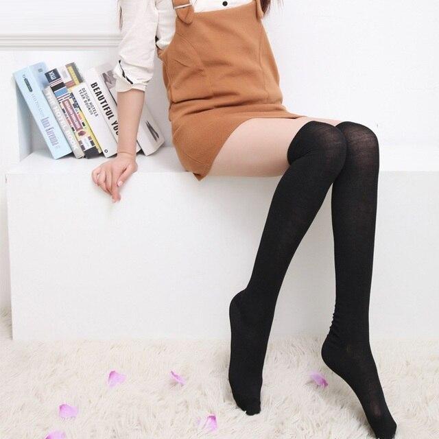 Oberschenkel hohe sexy Socken