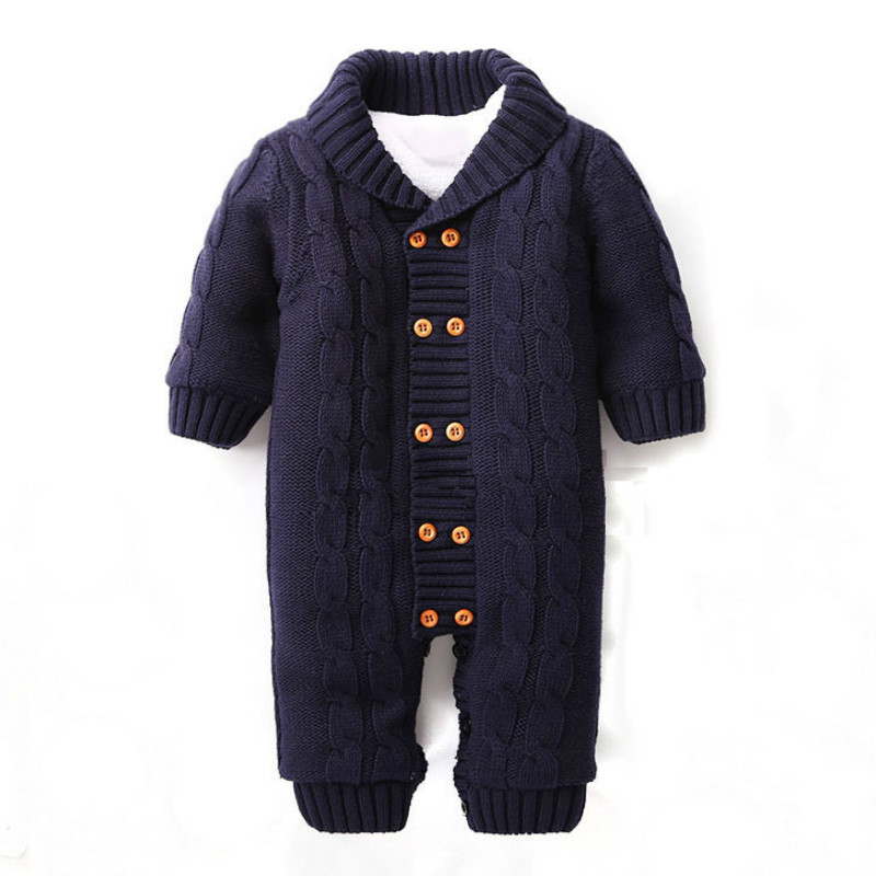 2017 Baby Boys Christmas V Collar Romper Winter Thicken Warm Baby Velvet Hooded Clothes Newborn Infant Jumpsuits Coveralls puseky 2017 infant romper baby boys girls jumpsuit newborn bebe clothing hooded toddler baby clothes cute panda romper costumes