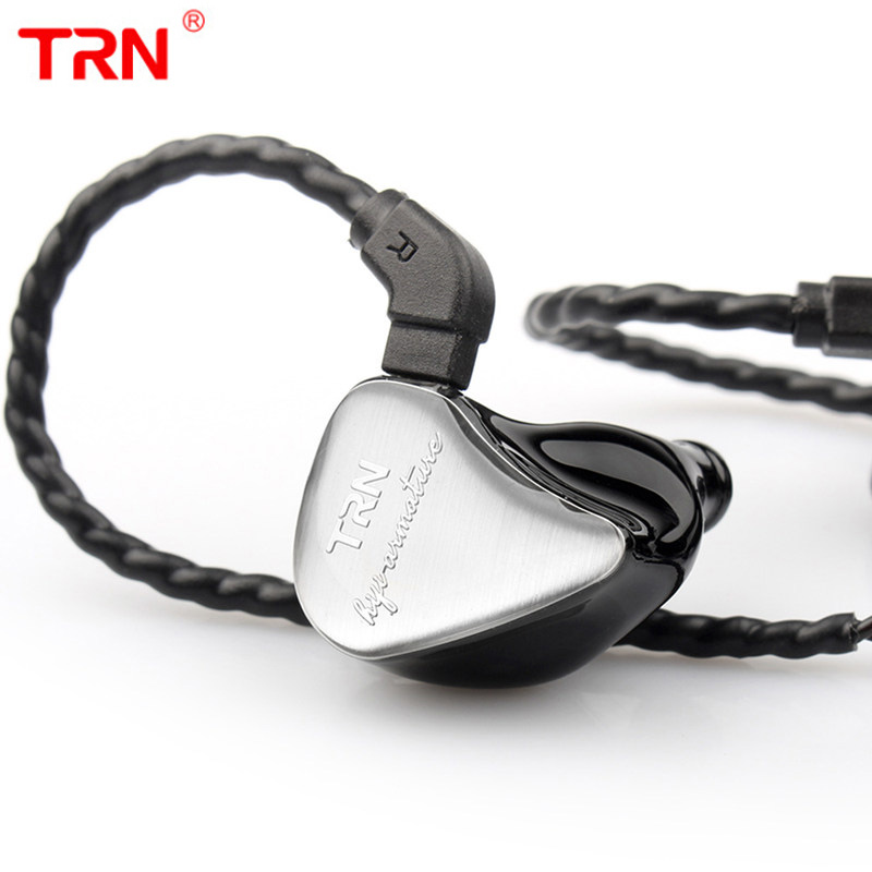TRN IM1 Earphone 1BA 1DD Hybrid In Ear Earphone Monito Running Sport Earphone For Phone HIFI