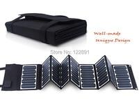 Sunpower 60W 5V/18V folding Solar Panel Charger For Mobile Phones/Power Bank / Laptops /12V Battery Charger New Free Shipping