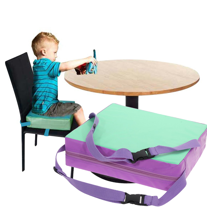 Chrilren Increased Chair Pad Baby Dining Baby Children Cushion Cojines Adjustable Removable Chair Booster Cushion