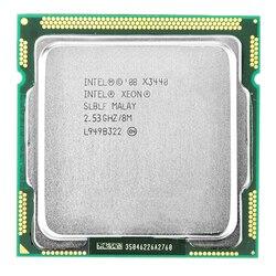 Intel Xeon X3440 CPU Xeon procesador X3440 (8M Cache 2,53 GHz) LGA1156 Desktop CPU
