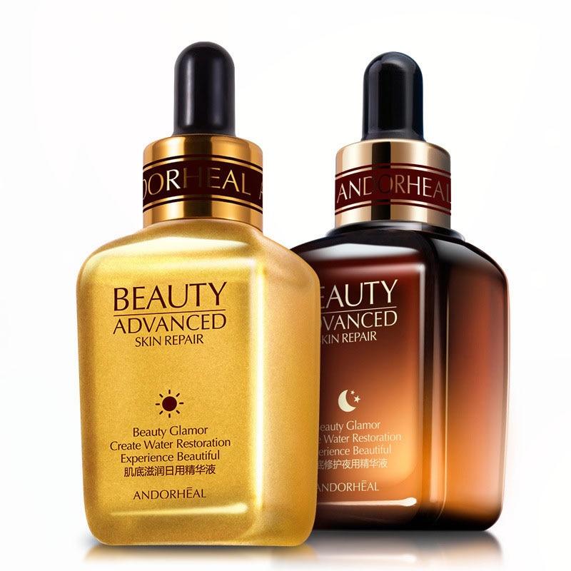 Essence Face Serum Acide Hyaluronique Retinol Vitaminis Collagen Argireline Anti-wrinkle Anti-aging Pore Minimizer Whitening MQ