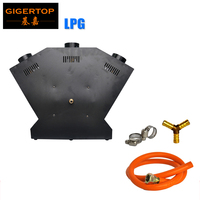 TIPTOP TP-T154B Flame Thrower - DJ Band Stage/Show Effect - DMX Fire Projector Machine - China Stage Light 3 Head Jet/3 Nozzle