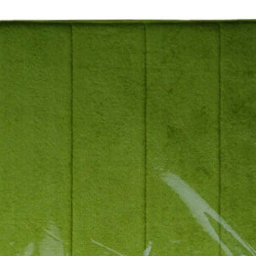 Высококачественные медленный отскок пенные коврики с эффектом памяти поглощающие отходы Противоскользящий коврик для ванной коралловый флис дверной коврик ковер-трава зеленая
