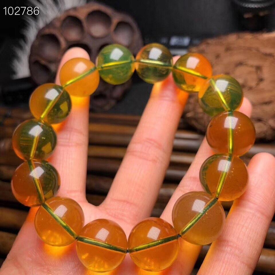 Natural Blue Amber Bracelets (6)