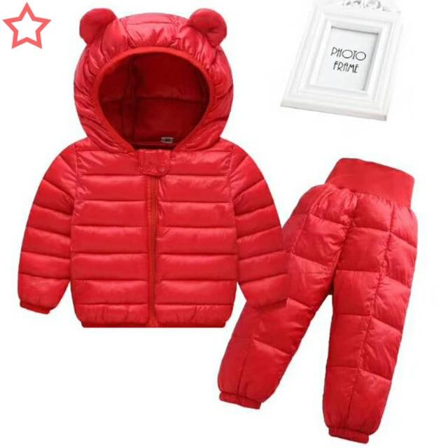 2e5bdbd32 BibiCola New Style Children Warm Down Jacket Baby Winter Ski Wear ...