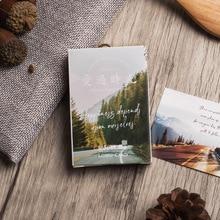 28 листов/набор креативная открытка Lomo Love Time/поздравительная открытка/письмо на день рождения конверт Подарочная открытка