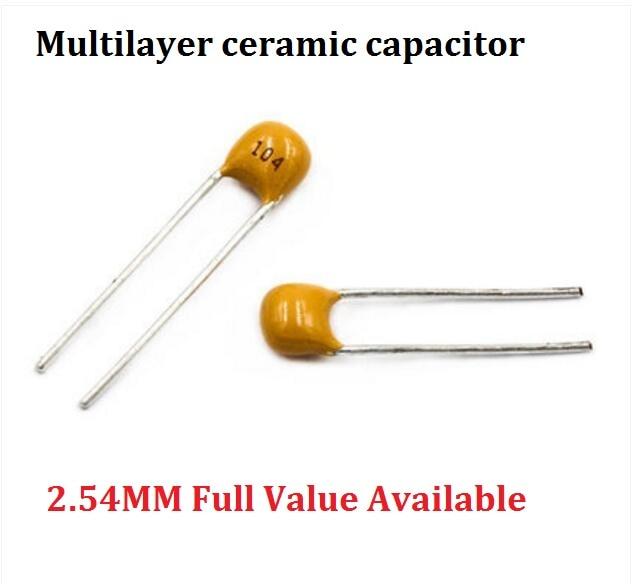 10 Pcs NEW High Voltage Ceramic Disc Capacitor 47pF 1KV