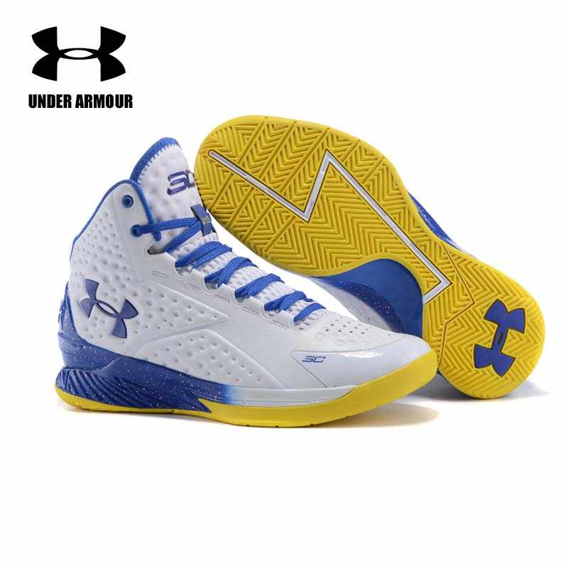 3b991f189303fb ... Under Armour Men Curry V1 Basketball shoes Zapatillas De Baloncesto  training boots Cushioning classic Stephen Curry