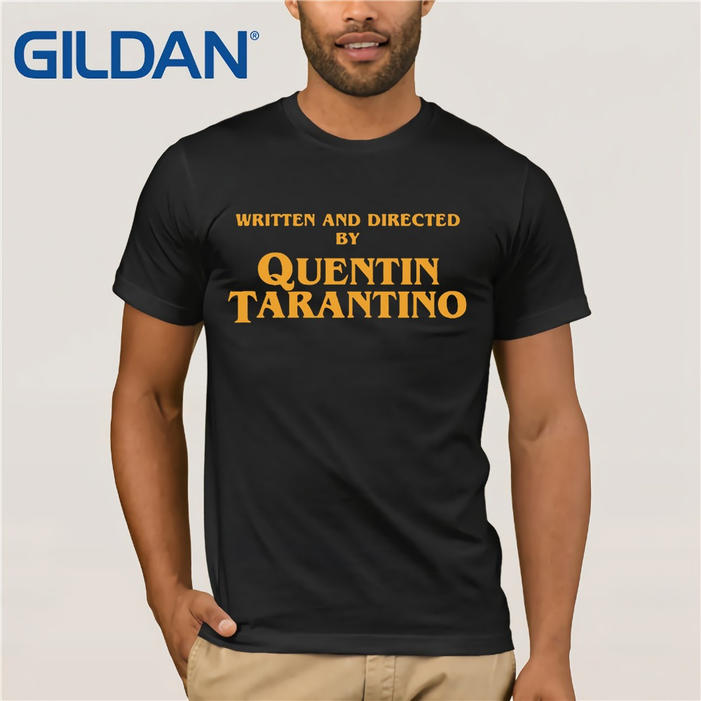 written-and-directed-by-quentin-font-b-tarantino-b-font-film-movie-pulp-fiction-django-kill-bill-2-john-travolta-fashion-t-shirt-men-tops-tees