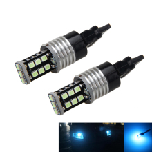цена на 2x Ice Blue 15-3528-SMD LED Daytime Running Light Bulbs 3156 3157 3757 4114 4157