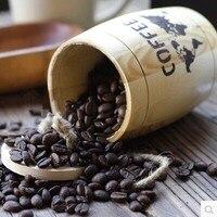 Cannibalizes coffee bean powder zasobnika zamknięte puszki oafishness wiadro bar dekoracji 100 1 2