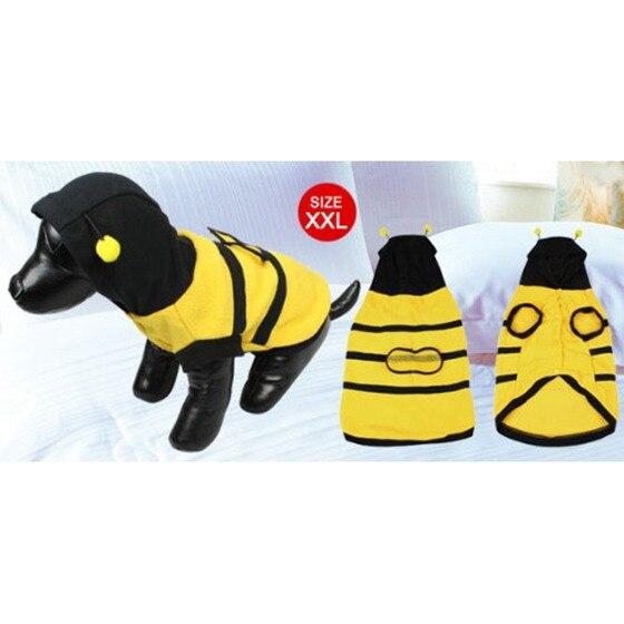 Dress up Costume Bumblebee Bee Doogie Dog Coat Clothes Pet