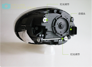 Image 2 - tuning cars Headlight For Beetle Headlights 2013~2018y DRL Running lights beetle taillight Fog lights