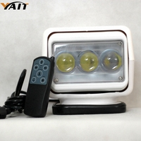Yait 7 Inch 60W Led Remote Control Light Wireless magnets Search Light Camp Hunting Fishing Boat Marine 4x4 Offroad Work Lamps