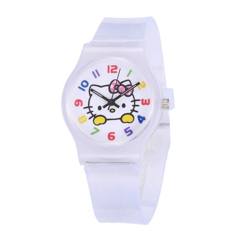 Watch For Girls Children Cartoon Wristwatch Mouse Sports Silicone Saats Fashion Analog Quartz Clock Hot Relogio