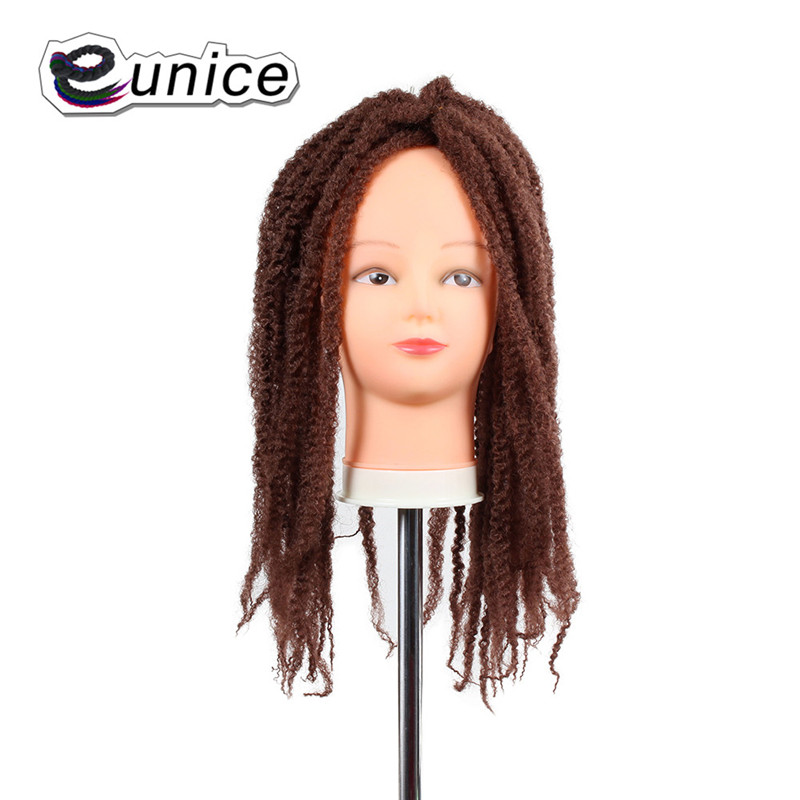 Marley Braids Hair Extension Synthetic Ombre Afro Kinky Crochet Kanekalon Braiding Hair (29)