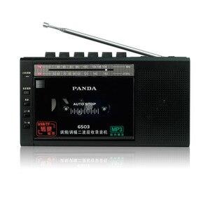 Image 3 - Panda 6503 FMวิทยุวิทยุUSB/TFเทปการถอดความเครื่องบันทึกเทปเทปวิทยุของขวัญจัดส่งฟรี