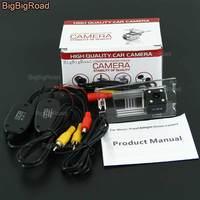 BigBigRoad For Jeep Compass Liberty Grand Cherokee Wireless Camera Car Rear View Reversing Camera HD CCD Parking Camera