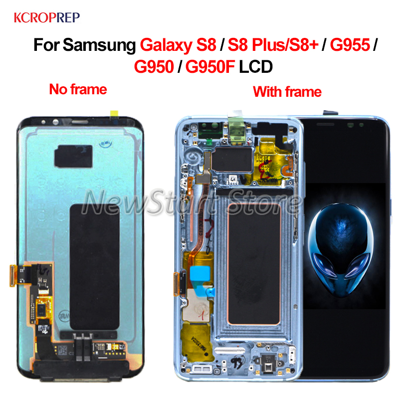 """5.8"""" For Samsung Galaxy S8 LCD 6.2"""" For Samsung Galaxy S8 Plus lcd Display Touch Screen For Samsung S8 S8+ G955 G950 G950F LCD-in Mobile Phone LCD Screens from Cellphones & Telecommunications    1"""