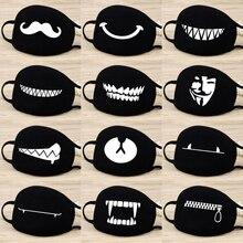Маска для лица и рта унисекс, 12 стилей, камуфляжная Муфельная маска для рта унисекс, респиратор для остановки загрязнения воздуха, мультяшная Милая хлопковая маска