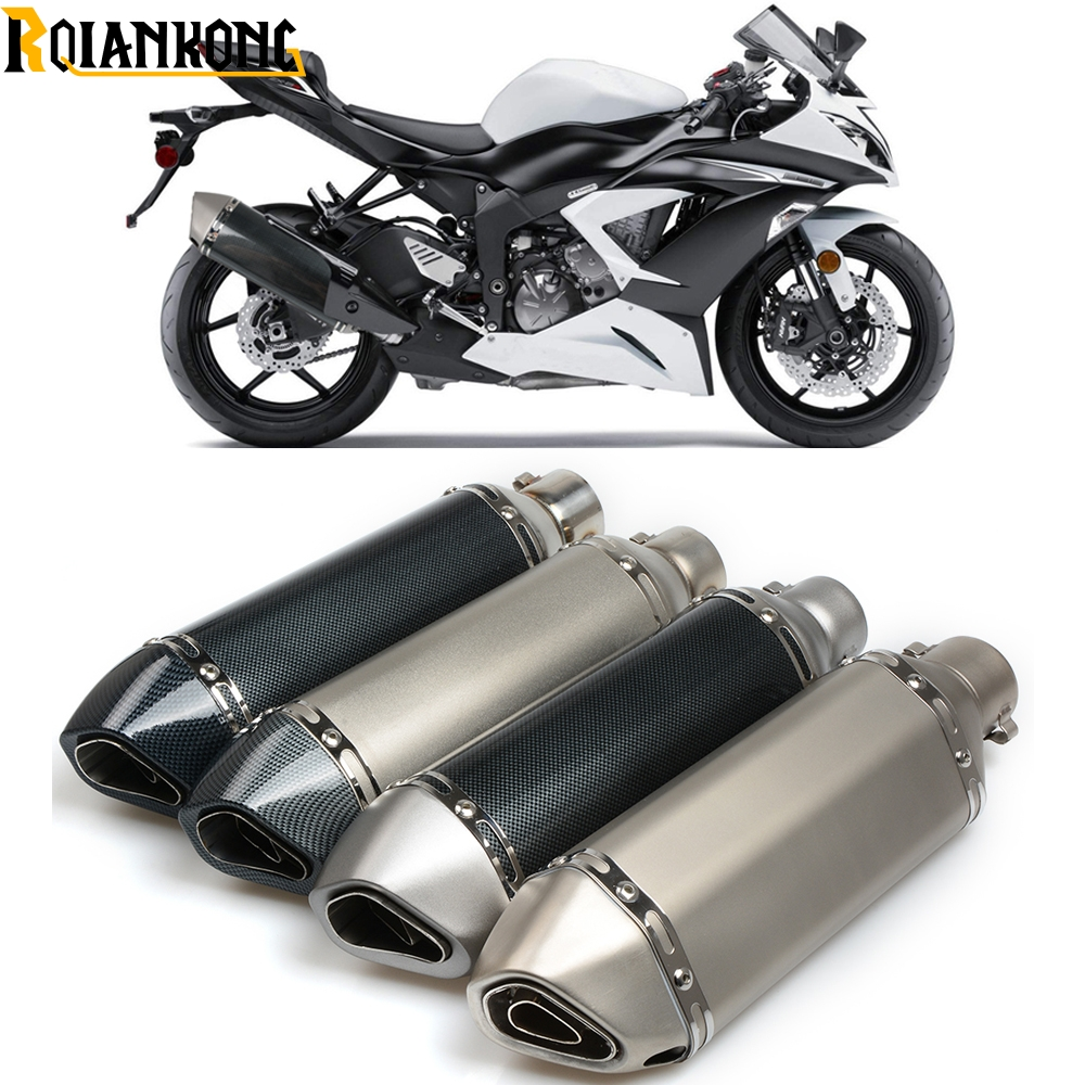Motorcycle 51mm exhaust muffler pipe with db killer 36mm connector For Aprilia TUONO R V4R Factory V4 R MANA 850 RS 125 250 цена 2017